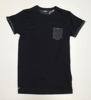 balder t-shirt black logo