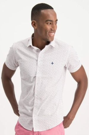 shirt aop stretch ss logo