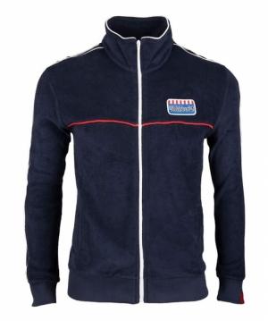 sweatjacket navy logo
