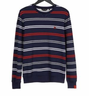 sweatshirt navy logo