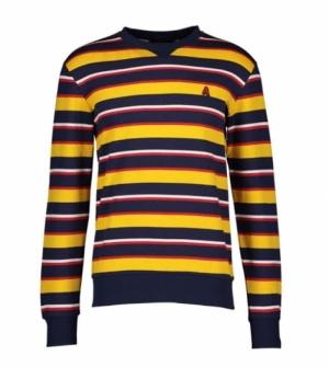 sweatshirt racing yellow logo