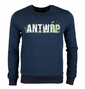 sweatshirt ink blue logo