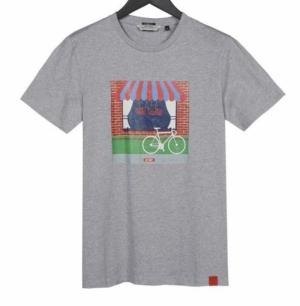 T-shirt grey chne logo