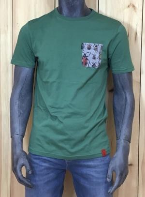 t-shirt veggie green logo