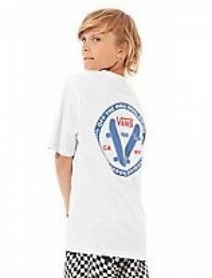 SS20.t-sh old skool boys white logo