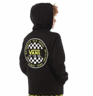 SS20.hood checker boys BLK-Su logo
