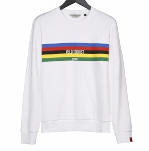 trui velotourist white logo