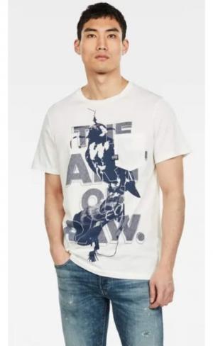 SS20.t-shirt bird pocket comp logo