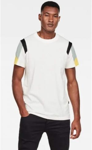 SS20.t-shirt motac fabric mix logo