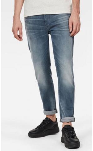 jeans 3301 Slim faded qua logo