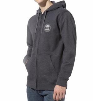 SS20.hoodie checker zip logo