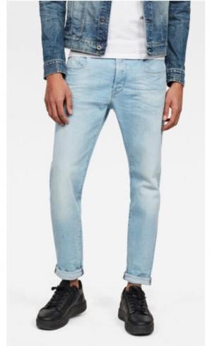 jeans 3301 Slim Azure logo
