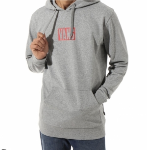SS20.hoodie new stax grey logo