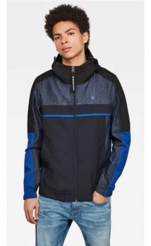 SS20.jacket denim mix hdd logo