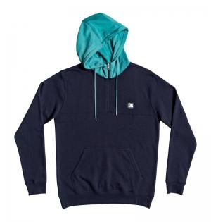 SS20.hoodie h-zip Rebel logo