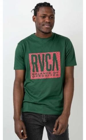 t-shirt balance ss green logo