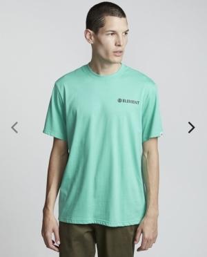 t-shirt blazin chest ss mint logo