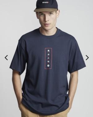 t-shirt arata ss indigo logo
