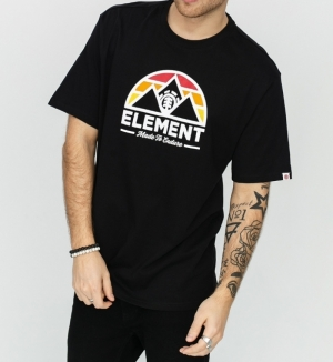 t-shirt squaw ss blk logo