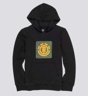 hoodie leopard ft black logo
