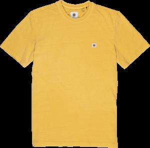 t-shirt zonnig ss cr geel logo