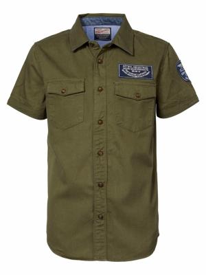 shirt SS 6083 greenstone logo