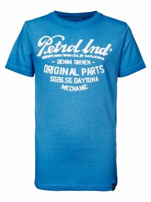 T-shirt SS R-neck 5000 E Blue logo