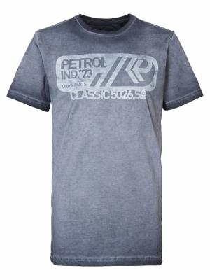 T-shirt SS R-neck 9073 R Grey logo