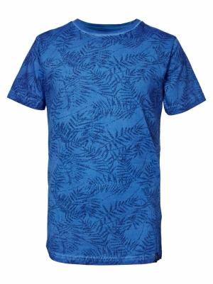 T-shirt SS R-neck 5142 A Blue logo