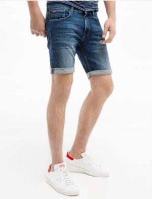short jeans garage logo