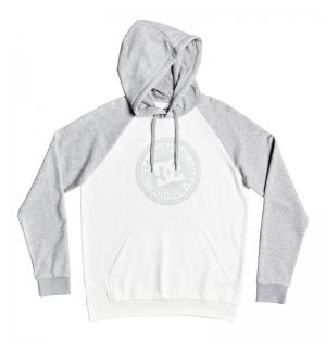 Hoodie circle star ph white-gr logo