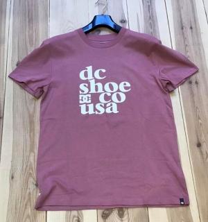 t-shirt just bang mauve logo
