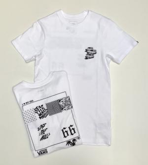 t-shirt vintage v66 logo