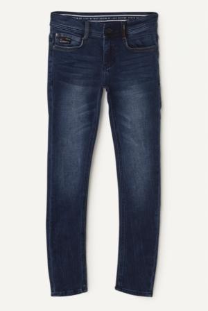 Jeans Luigi medium blue logo