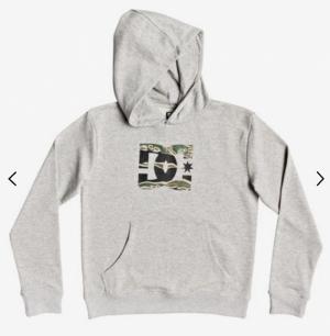 Hoodie grey H-camo logo