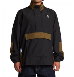 Jacket on the block black logo
