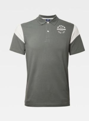 Polo sport grey moss logo
