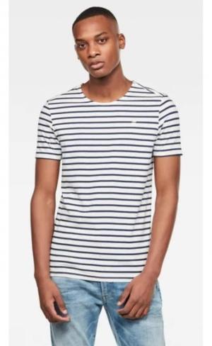 T-shirt xartto blue stripe logo
