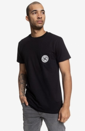 t-shirt basic pocket BLK logo