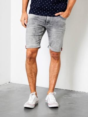 Short jeans Jackson logo
