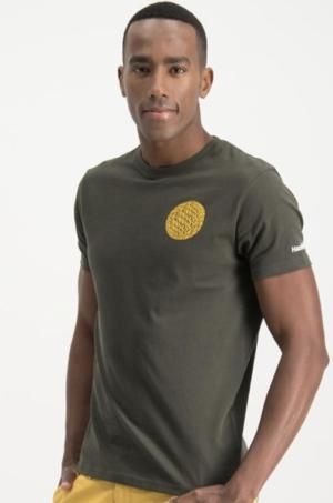 T-shirt small globe logo