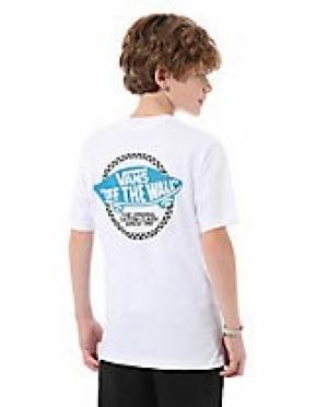T-sh checker otw boy white logo