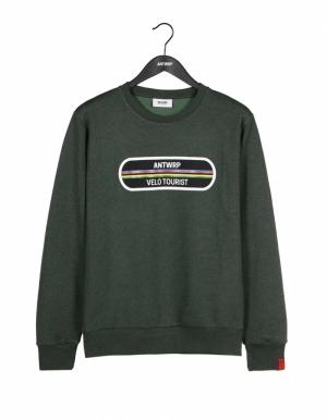Sweatshirt velo green logo