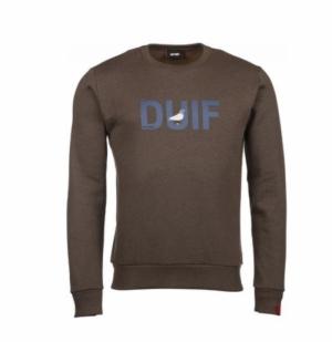 Sweatshirt brown logo
