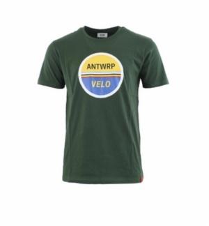 T-shirt velo green logo