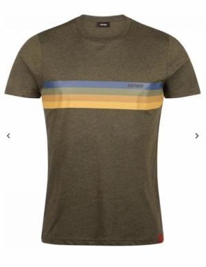 T-shirt olive logo