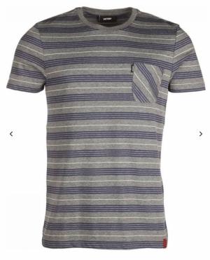 T-shirt med grey chiné logo