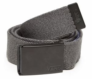 Belt charcoal heather logo