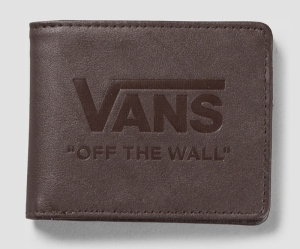 wallet dark brown logo