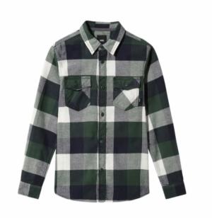 shirt box flannel logo